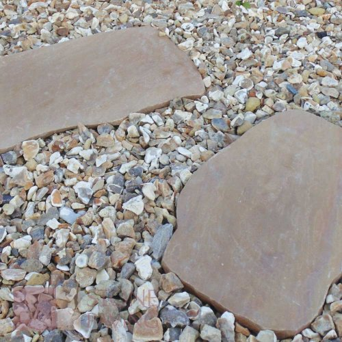 Buff Blend Stepping Stones